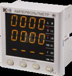 PD194UI-2K4T - ампервольтметр 3-канальный