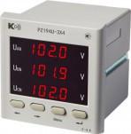 PZ194U-3X4 - (базовая модификация) - вольтметр 3-канальный