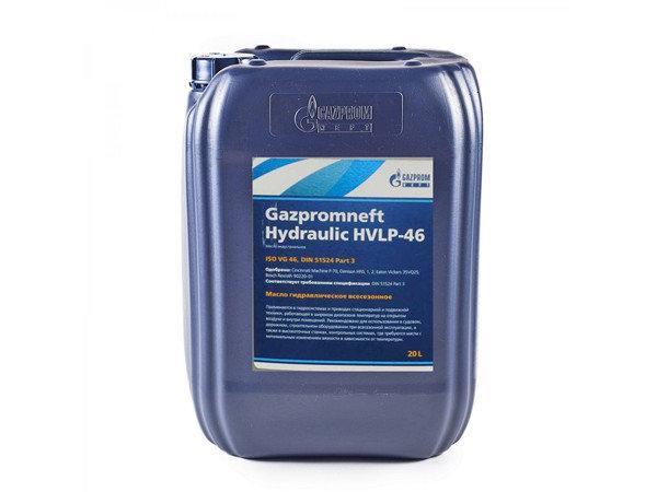 Гидравлическое масло Газпром HVLP-46 20л.