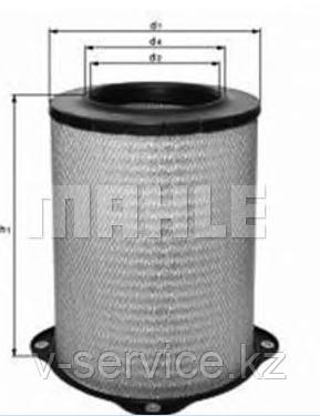 Фильтр воздушный LX  832