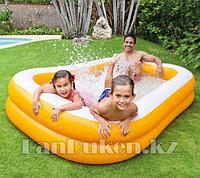 Надувной детский бассейн INTEX 57181 229*147*46 см