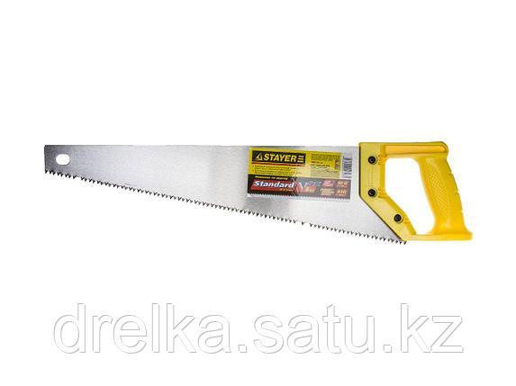 Ножовка ударопрочная (пила) STAYER ТАЙГА-5 450 мм, 5 TPI, быстрый рез поперек волокон, фото 2