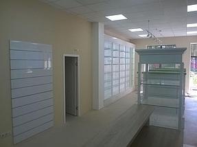 """Изготовление торгового оборудования для сети аптек """"Эвкалипт"""" с системой самообслуживания 9"""