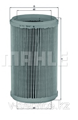 Фильтр воздушный LX  914