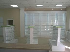 """Изготовление торгового оборудования для сети аптек """"Эвкалипт"""" с системой самообслуживания 13"""