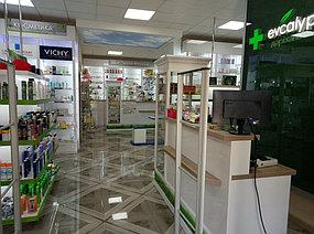 """Изготовление торгового оборудования для сети аптек """"Эвкалипт"""" с системой самообслуживания 1"""