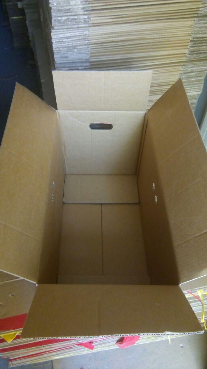 Коробка б/у (3-х слойная) 630х320х340 - фото 3
