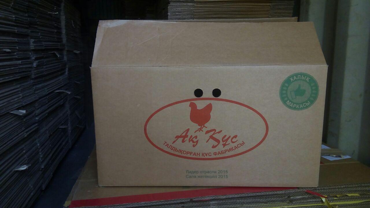Коробка б/у (3-х слойная) 630х320х340 - фото 1