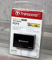 Кардридер мульти Transcend RDF9K USB 3.1 260MB/s, фото 1