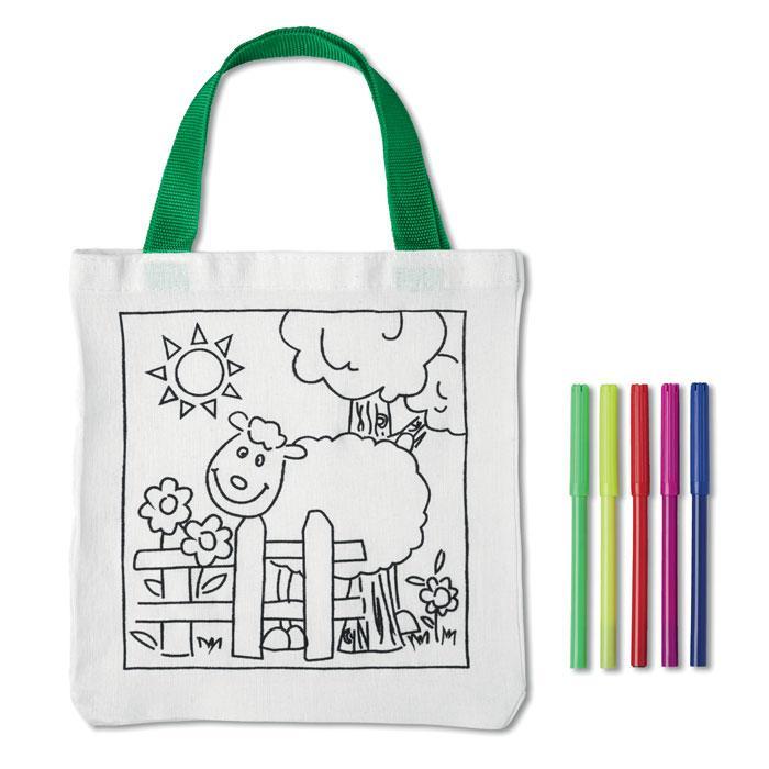 Детская сумка из хлопка
