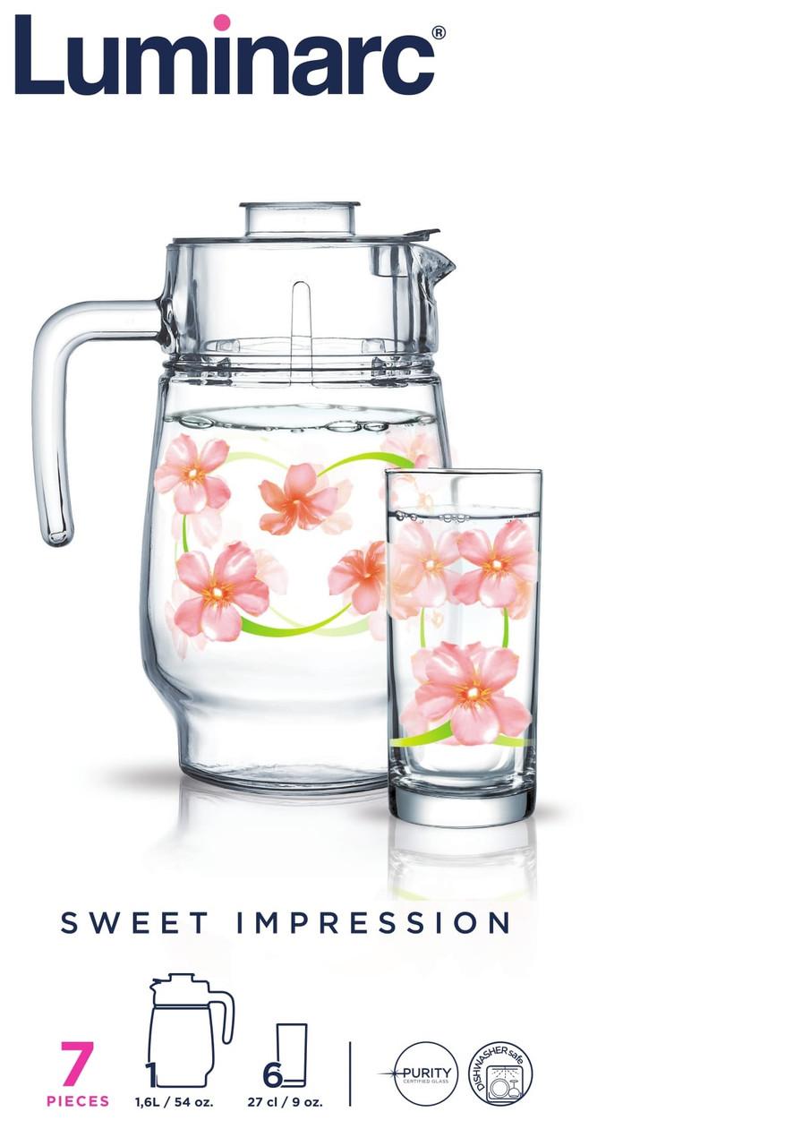Набор питьевой Luminarc Sweet Impression (7 пр.)