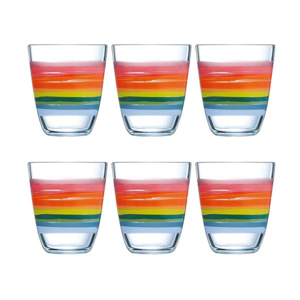 Набор стаканов Luminarc Color Pencil 310мл, 6шт.