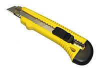 Нож с выдвижным сегментированным лезвием, пластмас., 9мм