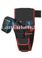 Кобура для шуруповерта с карманом для бит и сверл MATRIX 90243 (002)