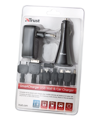 Trust 17154 SmartCharge USB Wall & Car Charger, фото 2