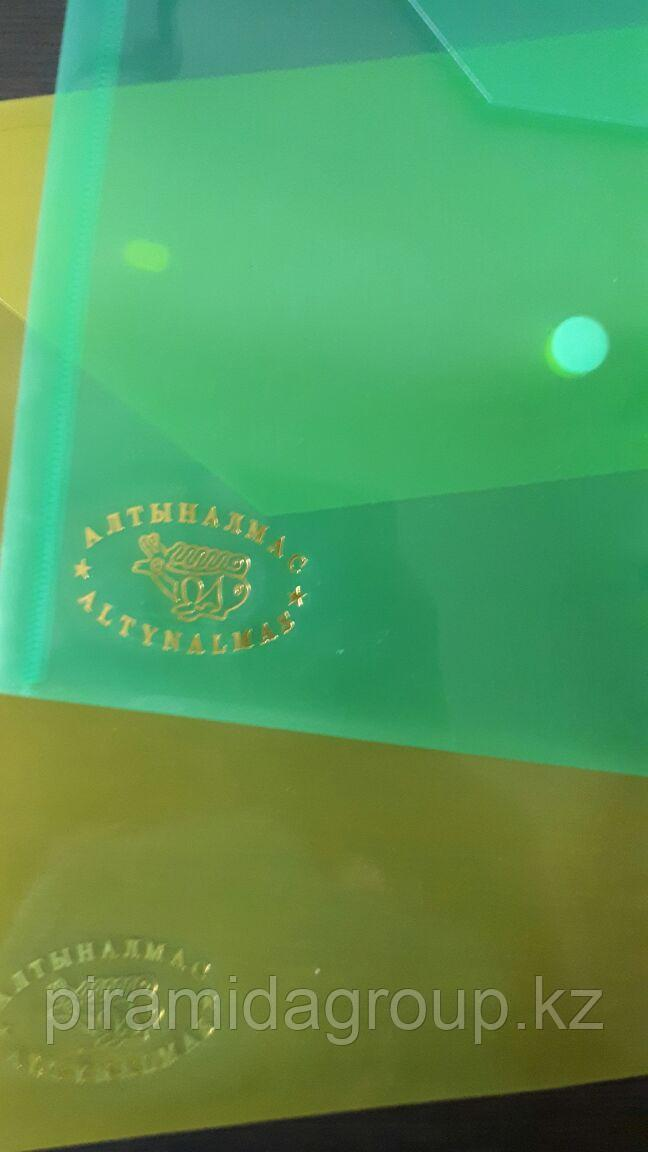 Пластиковые папки с логотипом компании по индивидуальному заказу