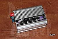 Инвертор 12В на 220В, 500 Вт, защита от перегрузки, питание от аккумулятора, питание от прикуривателя, фото 1