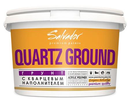 """Грунтовка адгезионная Quartz Ground ТМ """"Salvador"""" 14"""