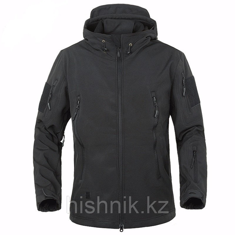 КурткаSoft Shell ЧЕРНАЯ