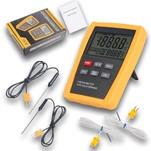 Fluke 52 II - двухканальный цифровой термометр