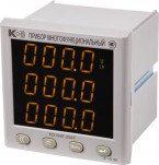 PD194PQ-2S4T-A1 - многофункциональный цифровой электроизмерительный прибор (одностраничная модификация, повышенной точности)