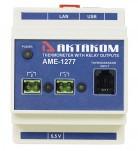 АМЕ-1277 - контроллер с USB/LAN/Web доступом (2 релейных канала)