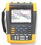 Fluke 190-504 - четырехканальный цветной портативный осциллограф-мультиметр