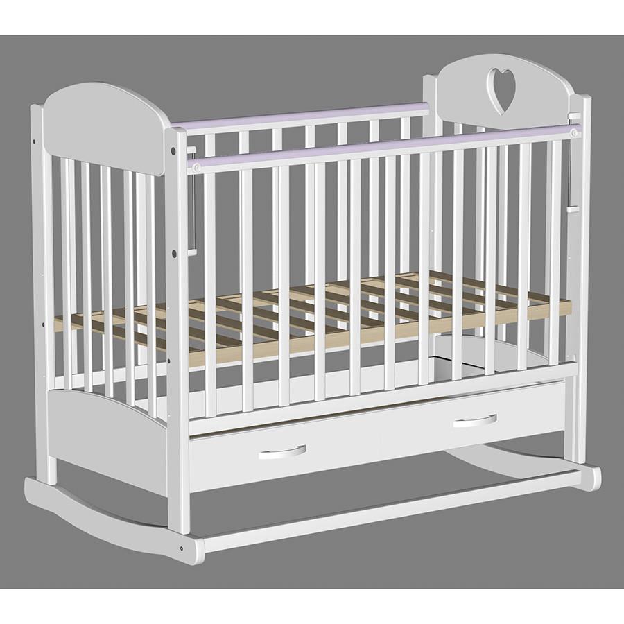 Кровать детская Ведрусс Иришка-2 Белая