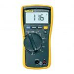 Fluke 116 - мультиметр для специалистов по системам обогрева, вентиляции и кондиционирования воздуха с функцией измерения температуры и микротоков
