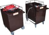 СВПА - стенд высоковольтный с генератором акустических ударных волн (на двух тележках)