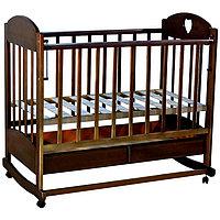 Кровать детская Ведрусс Иришка-2 темный орех