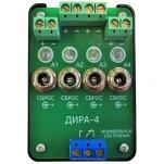 ДИРА-4/12 - 4-х канальный датчик индикации разряда аккумуляторов многократного действия, 12В