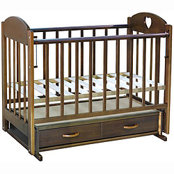 Кроватка детская Ведрусс Иришка-3 орех