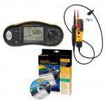 Fluke 1662/T110 KIT/D - комплект многофункционального тестера электроустановок и пробника напряжения с ПО DMS