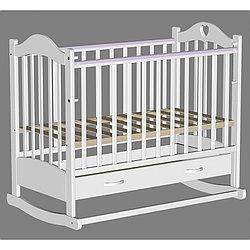 Кровать детская Ведрусс Лана-2 белая