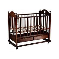 Кровать детская Ведрус Таисия 2 темный орех