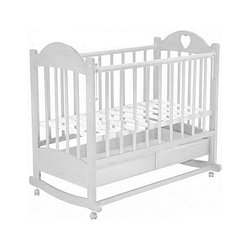 Кровать детская Ведрус Таисия 2 белая