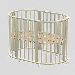 Детская круглая кроватка Ведрусс Оливия слоновая кость