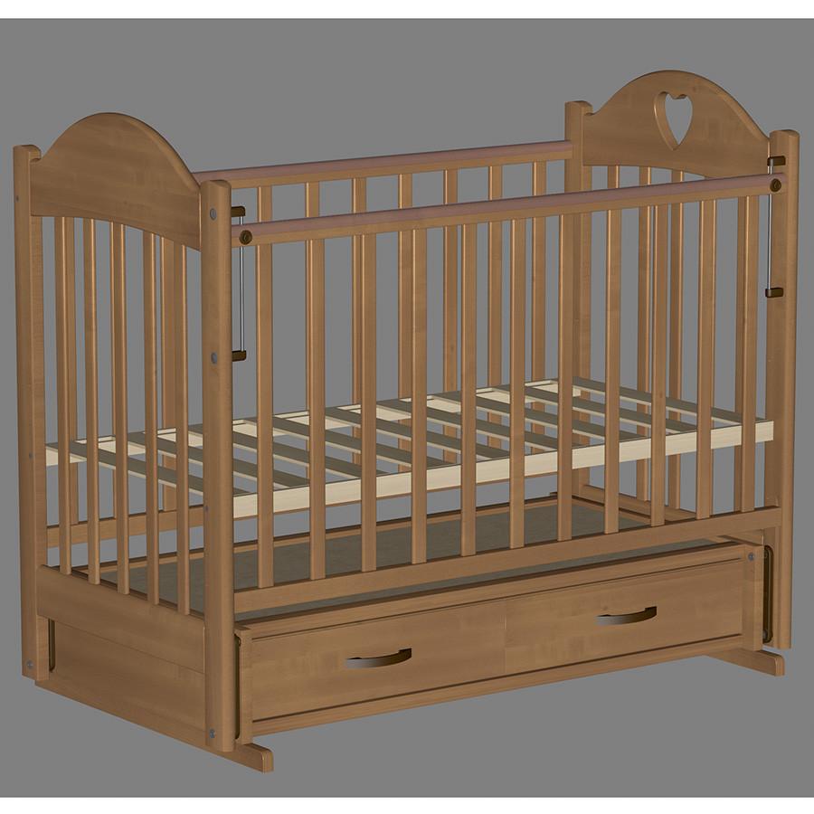 Кровать детская Ведрус Таисия 3 орех