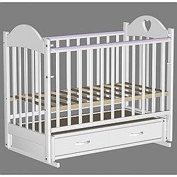 Кровать детская Ведрус Таисия 3 белая