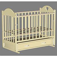 Кровать детская Ведрус Таисия 3 слоновая кость