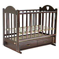Кровать детская Ведрус Таисия 3 вишня