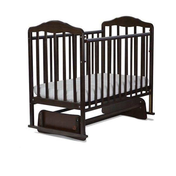 СКВ Кровать детская БЕРЕЗКА маятник Венге