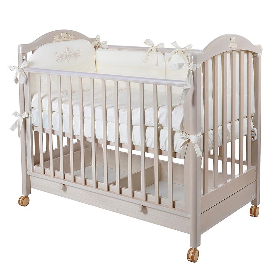 Детская кроватка MIBB Tender Sbiancato/выбеленный дуб 120x60
