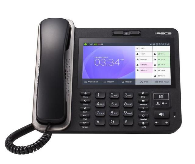 IP видеотелефон LIP-9070 для IP АТС