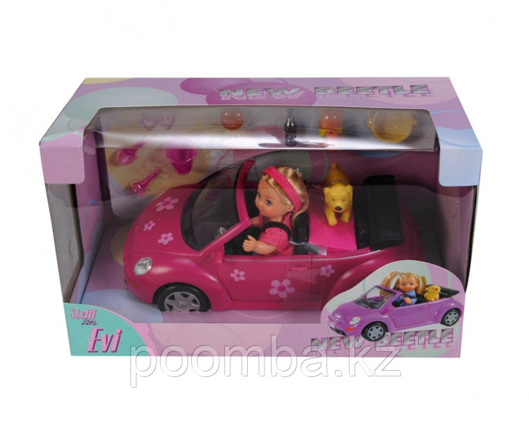 Кукла Еви с машинкой 12 см - фото 5