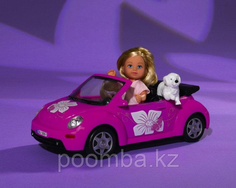 Кукла Еви с машинкой 12 см - фото 4