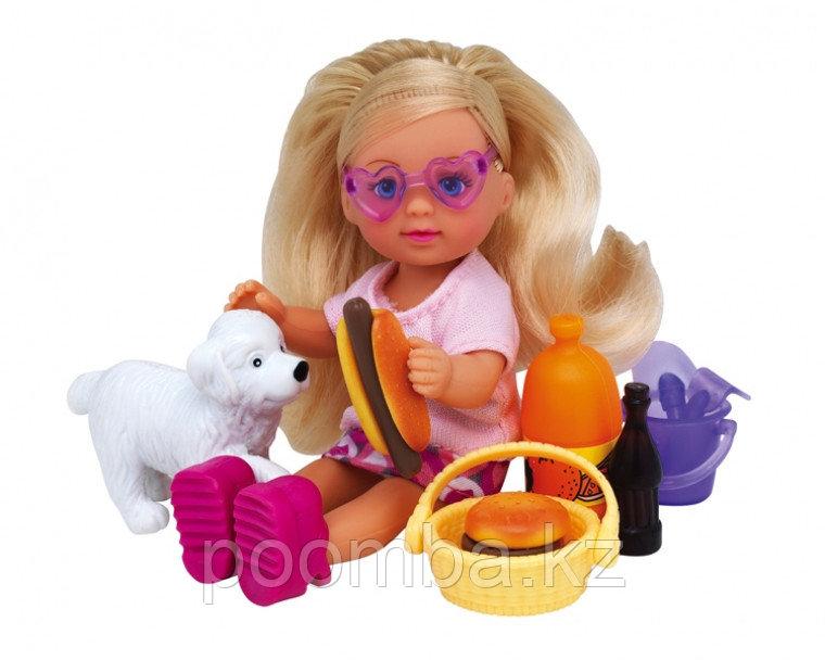 Кукла Еви с машинкой 12 см - фото 2