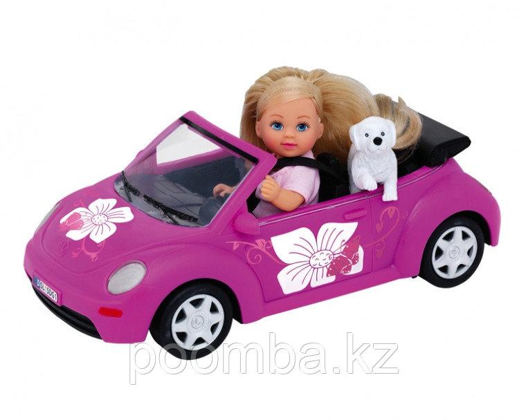 Кукла Еви с машинкой 12 см