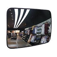 KLRW-6080-2200 обзорное прямоугольное зеркало со светоотражающей рамкой, 600*800 мм